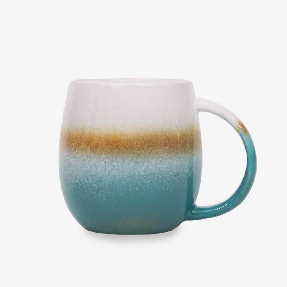 Sass & Belle Dip Glazed Ombre Turquoise Mug