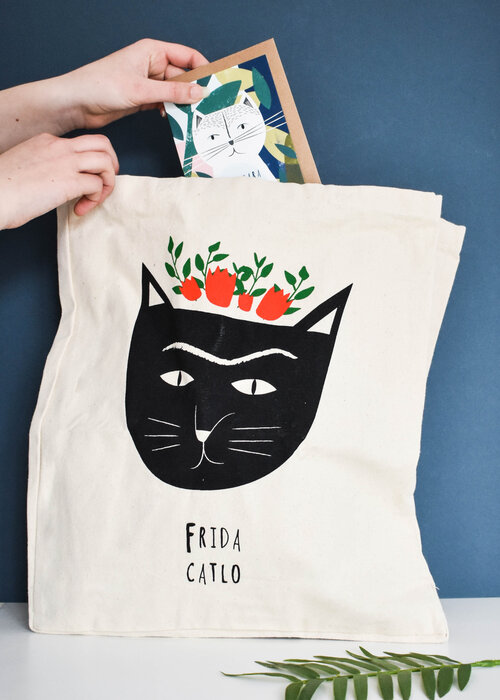 Niaski - Frida Catlo  Tote bag