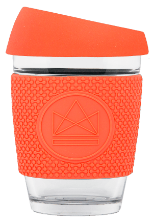 Neon Kactus - Dream Believer, Reusable Glass Cup, 12oz