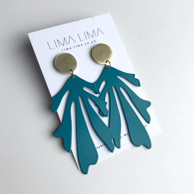 Lima Lima - Lila Earrings - Teal
