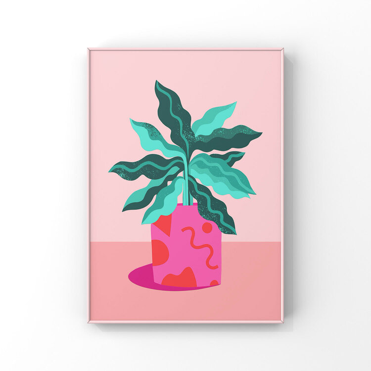 Melissa Donne -  A4 Abstract Plant
