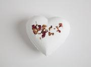 Eco Bath London - Heart shape Bath Bomb Fizzer - Rose