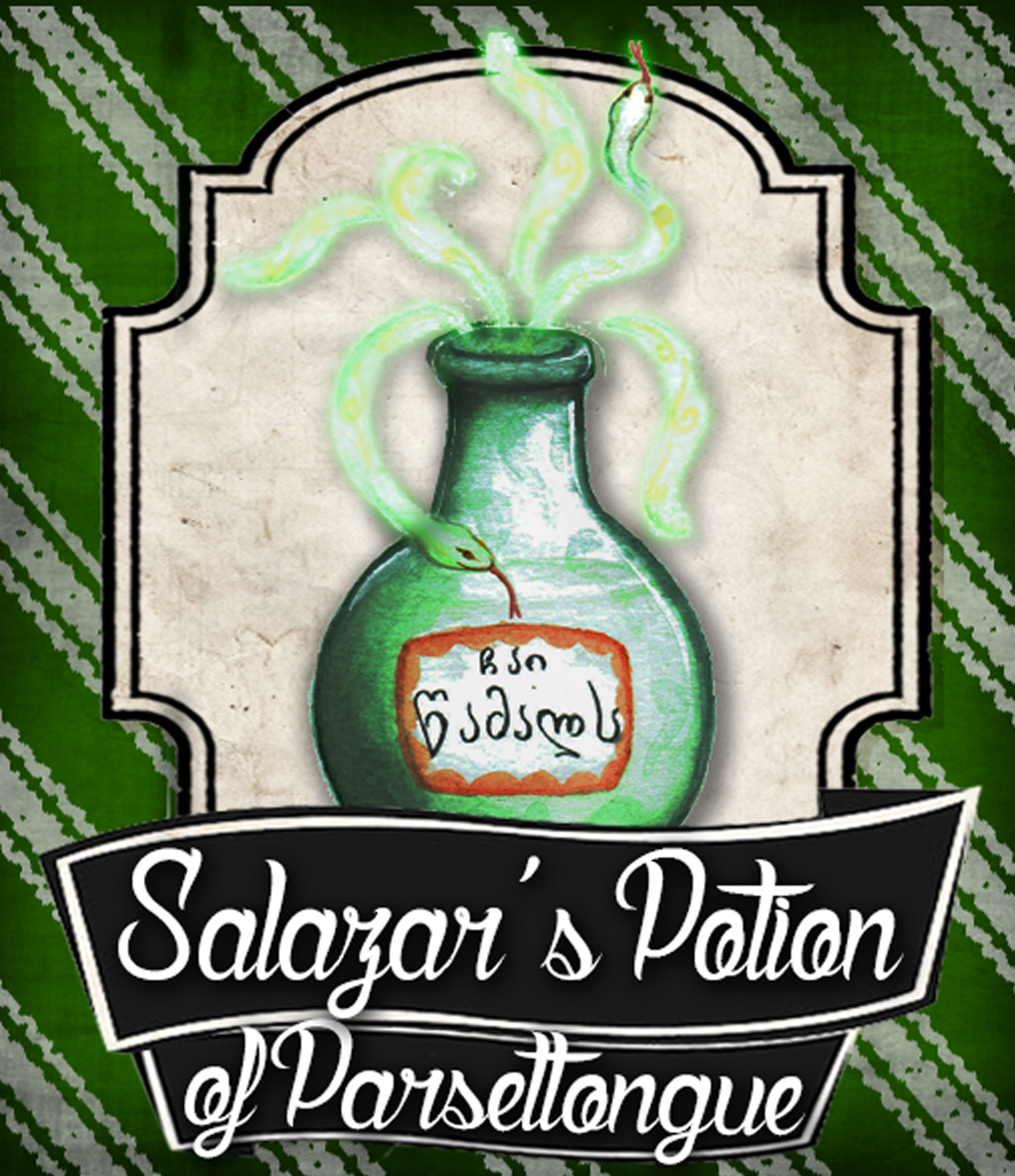 Salazar's potion of parseltounge
