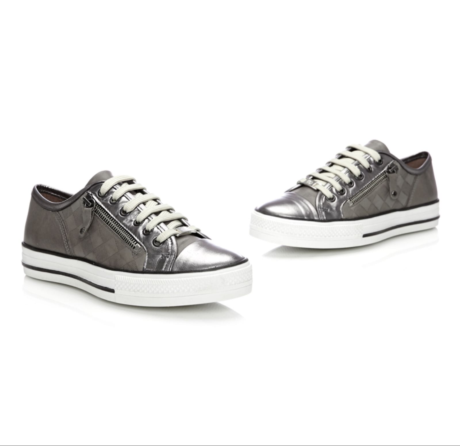 Moda in Pelle Fiarli Pewter Leather