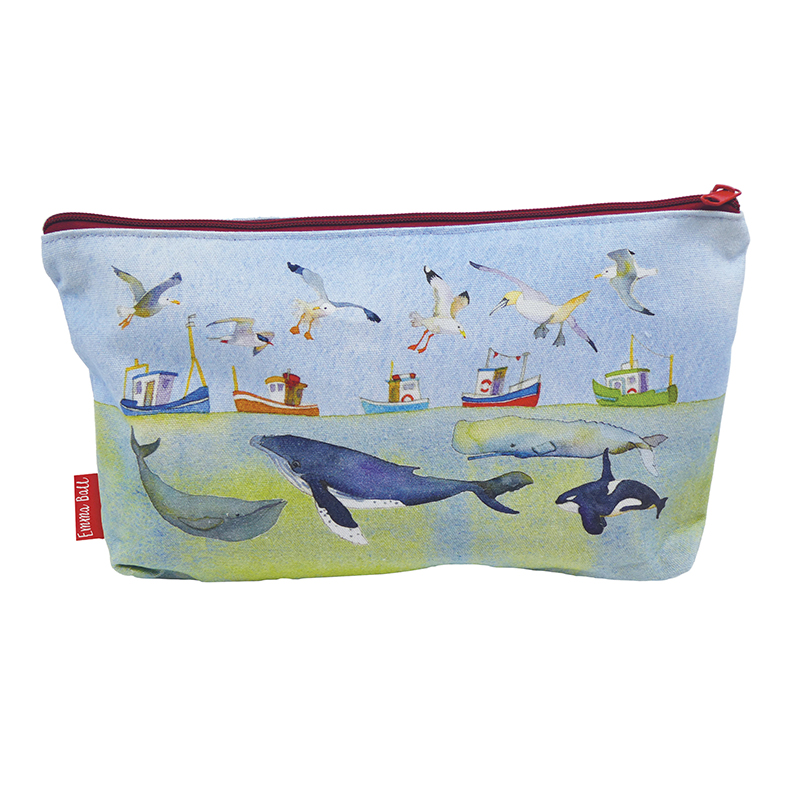 Under the Sea Zipped Pouch