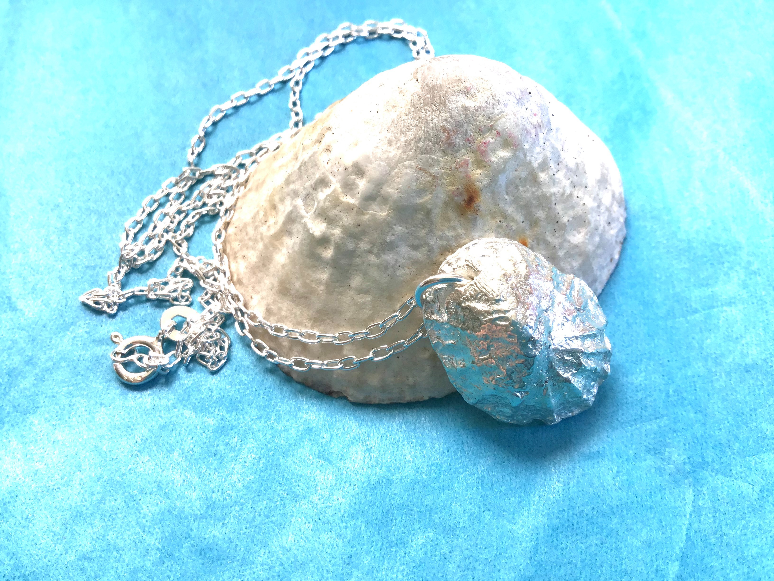 Silver Limpet Shell