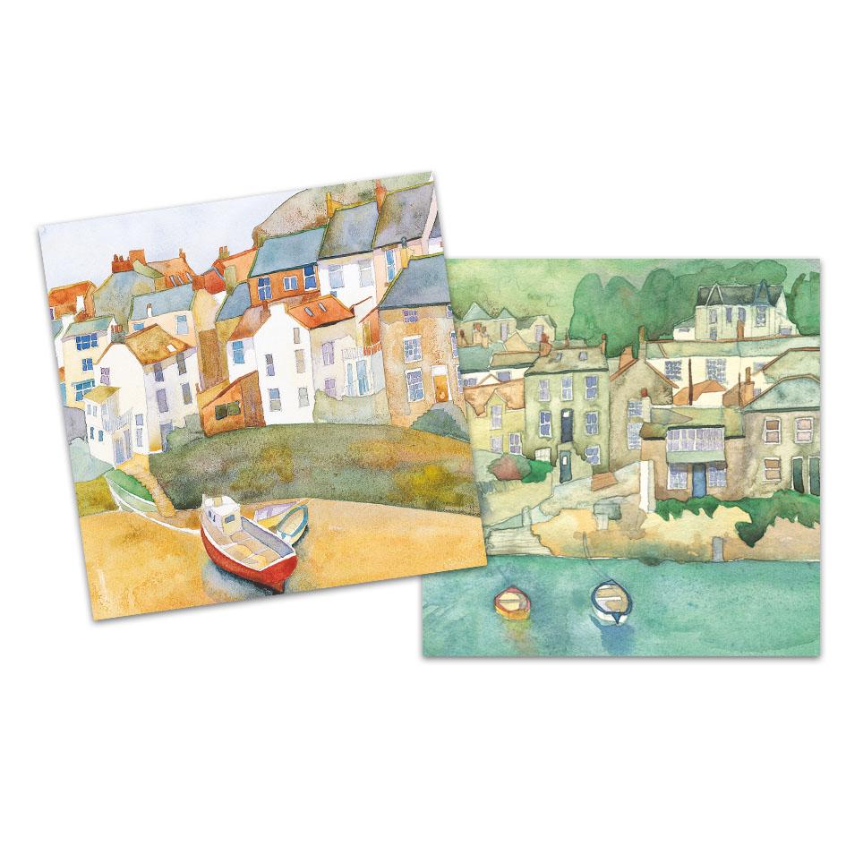 Harbours Mini Notecard Pack