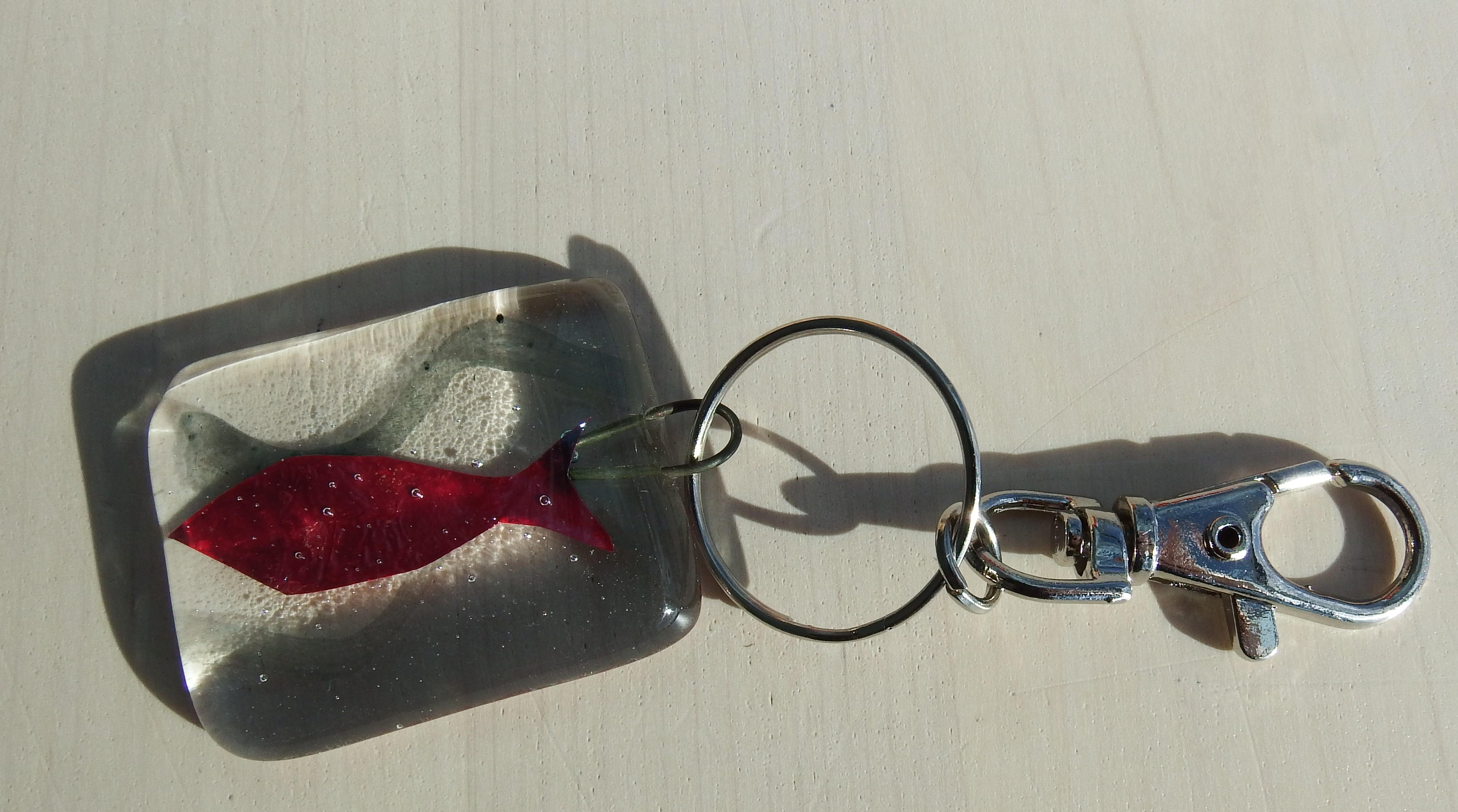Glassfish key ring