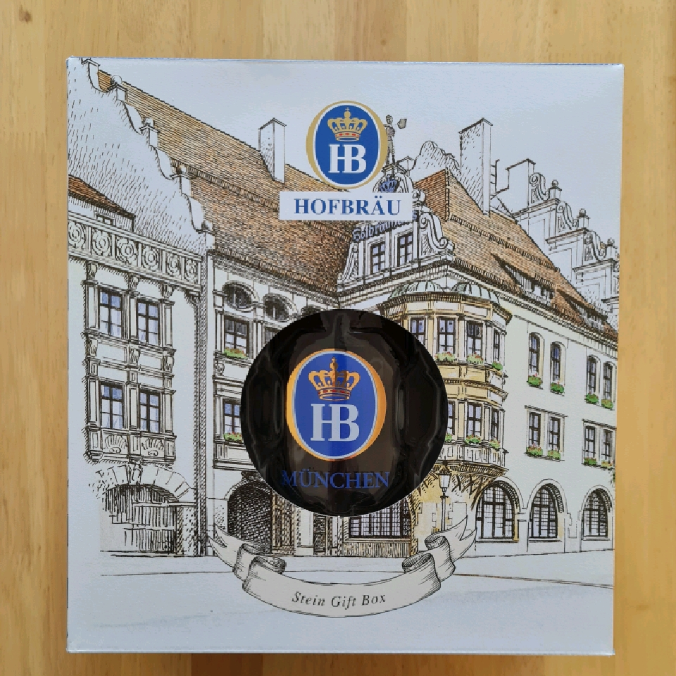 Hofbrau Gift Pack (4x 500ml bottles + Stein)