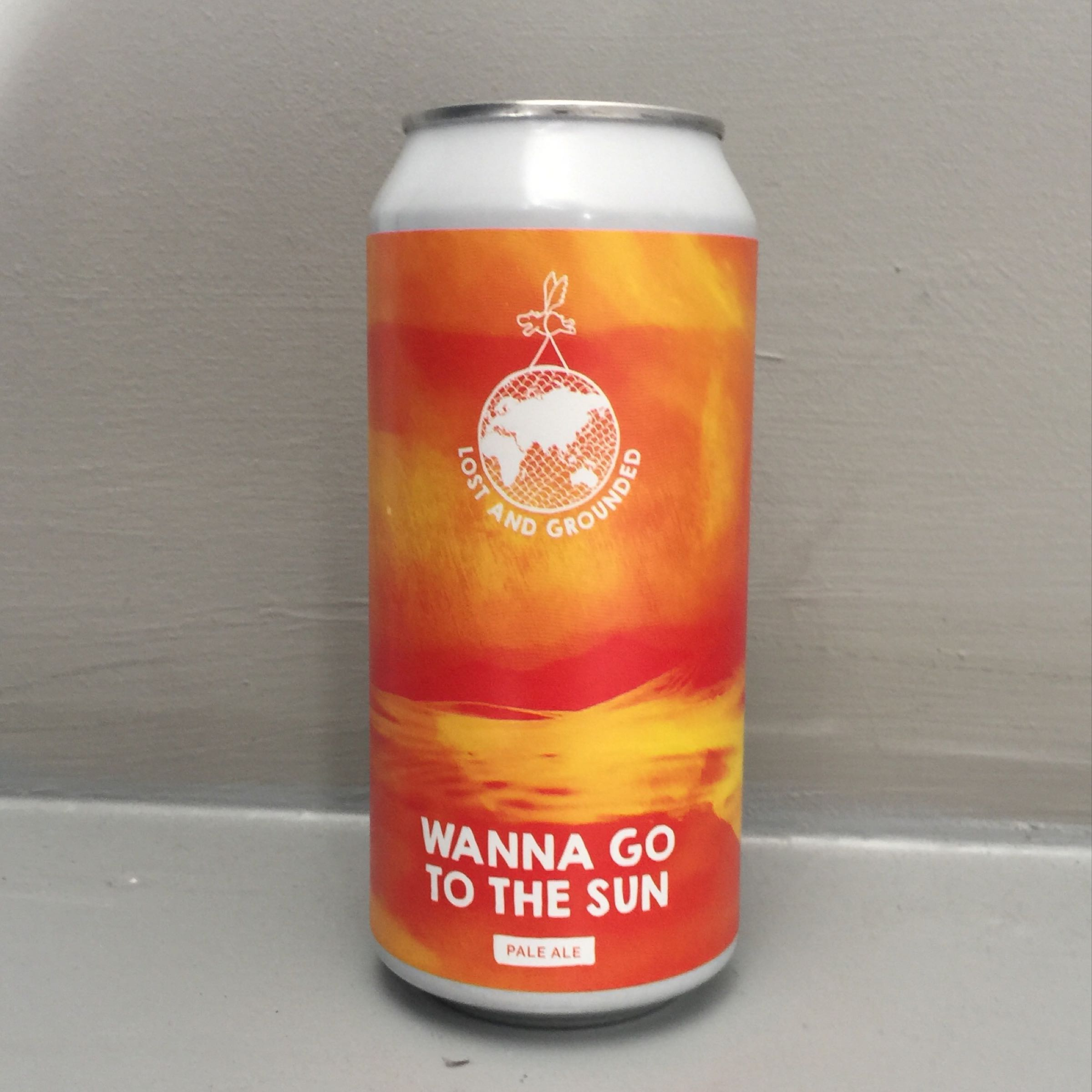 Lost and Grounded 'Wanna Go To The Sun' 440ml 4.6% ABV