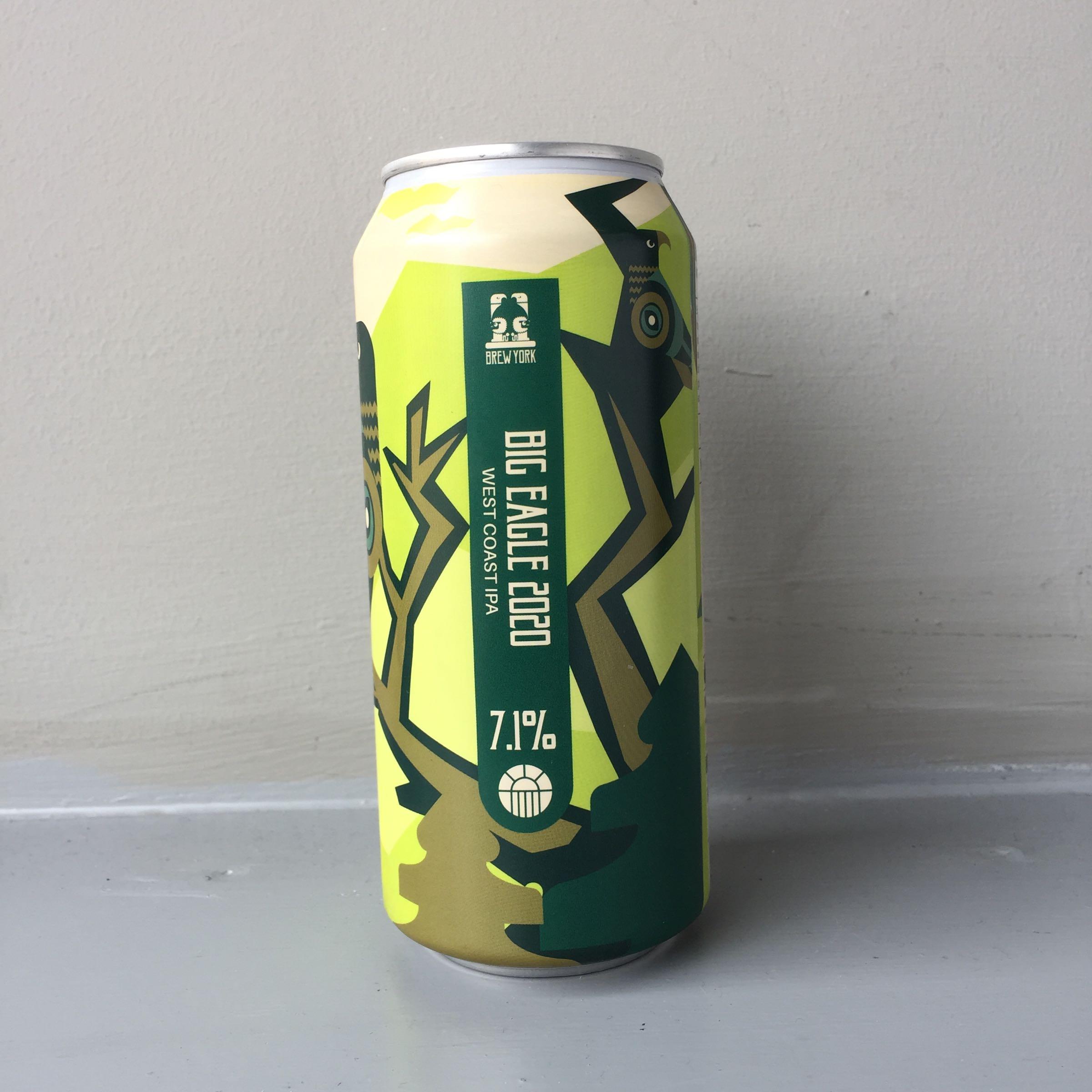 Brew York 'Big Eagle 2020' West Coast IPA 440ml 7.1% ABV