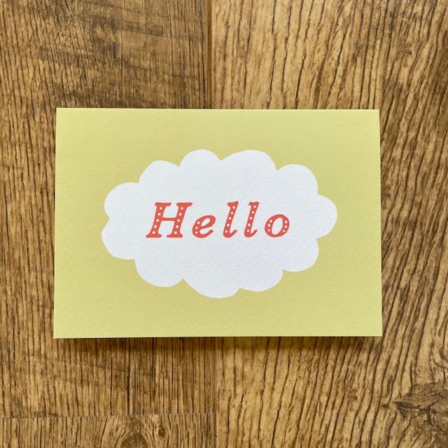 Hello card by Ariana Martin