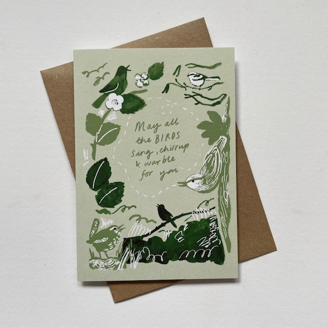 May all the birds card by Jo Blaker