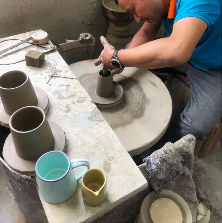 Stoneware Mug Mint