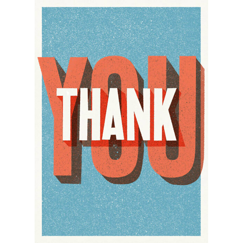 Thank You Card by Card Carnival