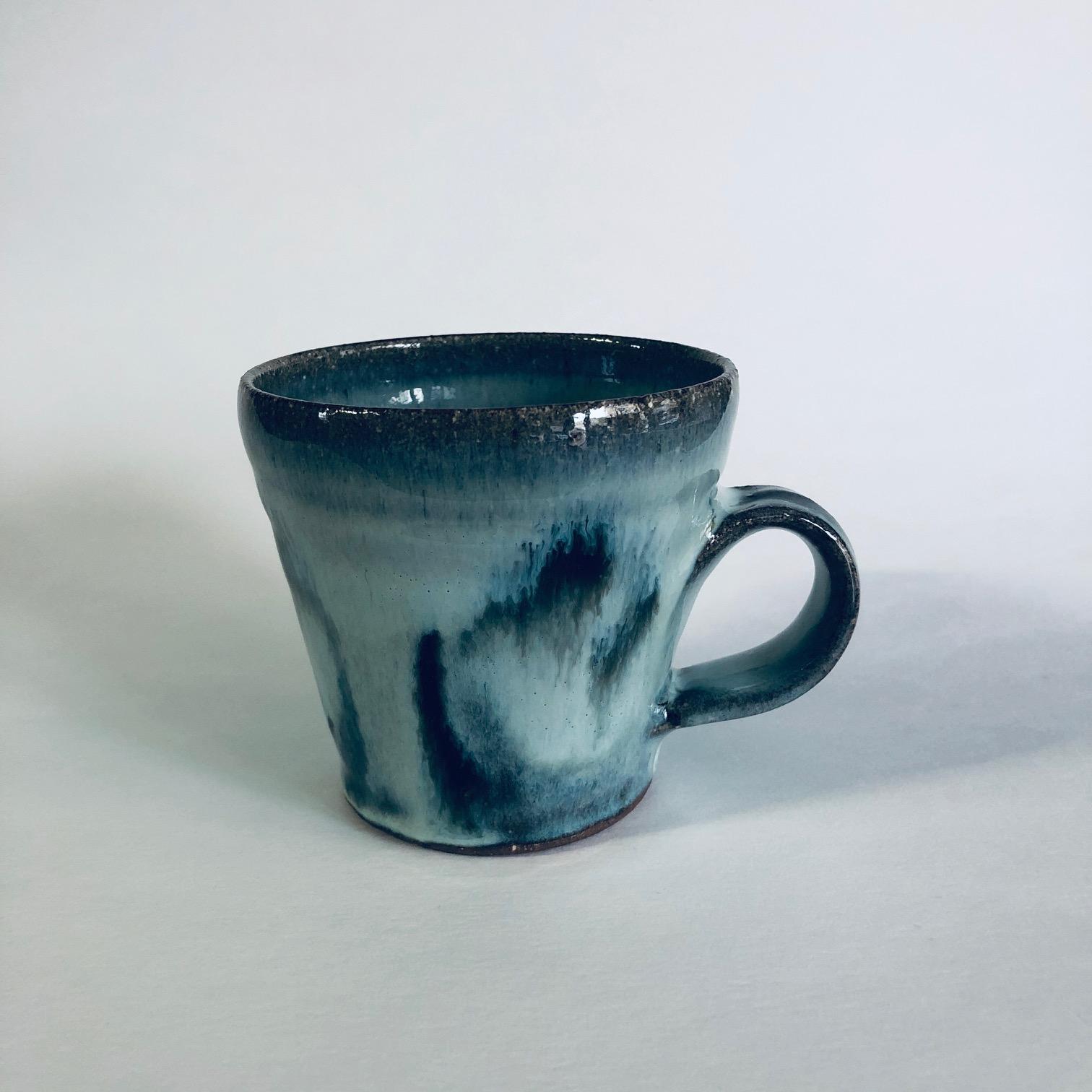 Matt Waite Glazed Stoneware Cup