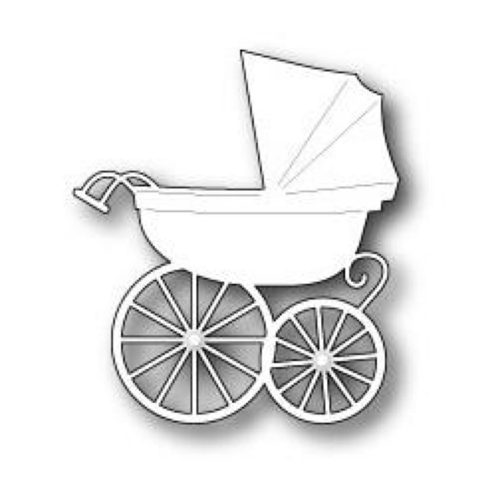 Memory box baby carriage