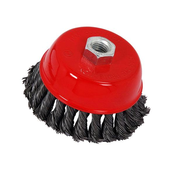 Wire Cup Brush Twist Knot 100mm
