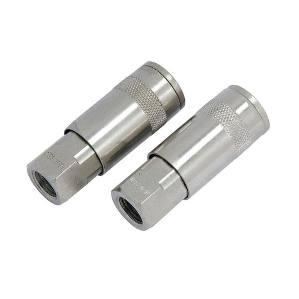 "Air Quick Coupler Set - 2pc Female 1/4"" BSP"