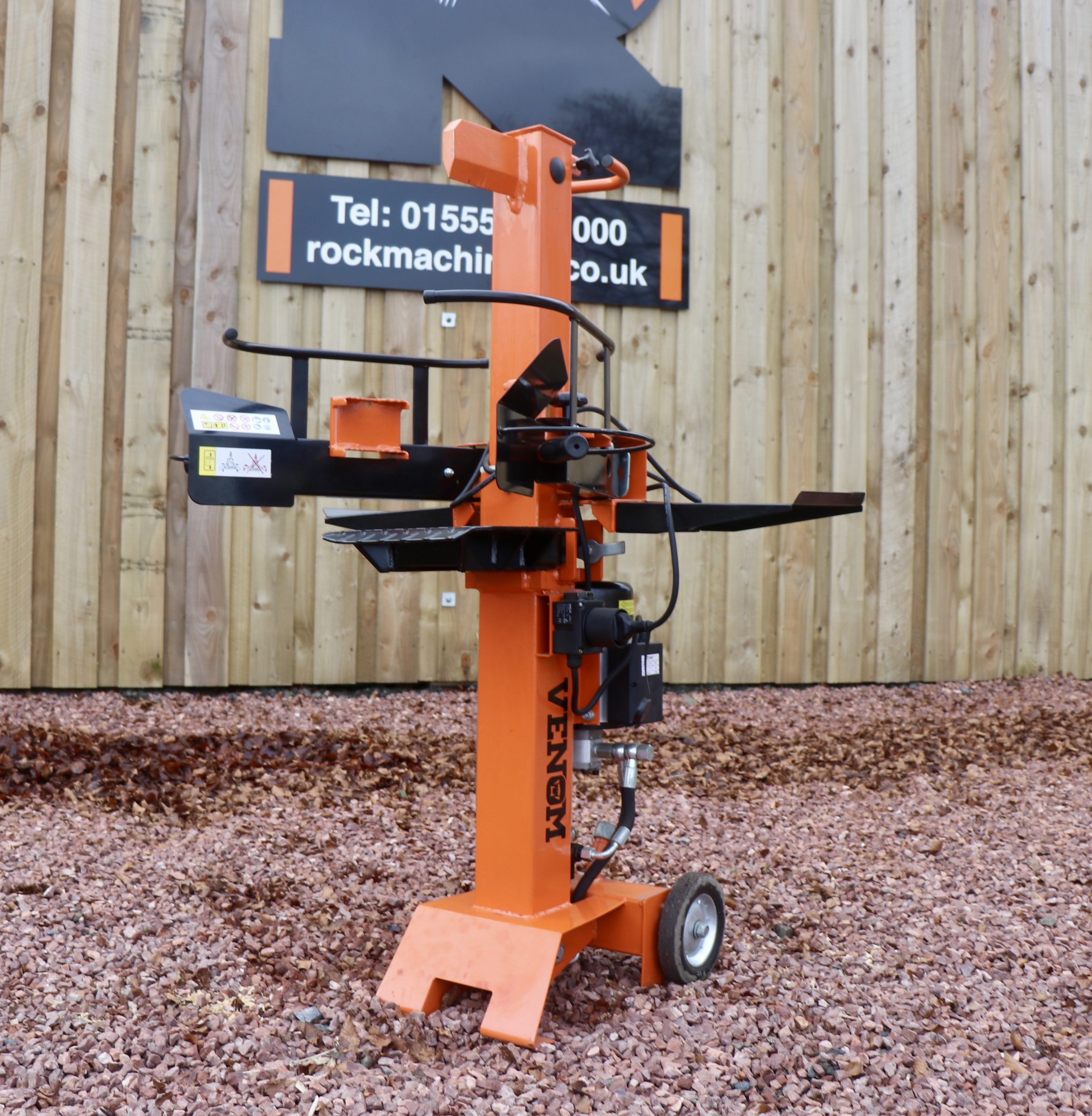 8ton Venom Compact Series Electric Log Splitter