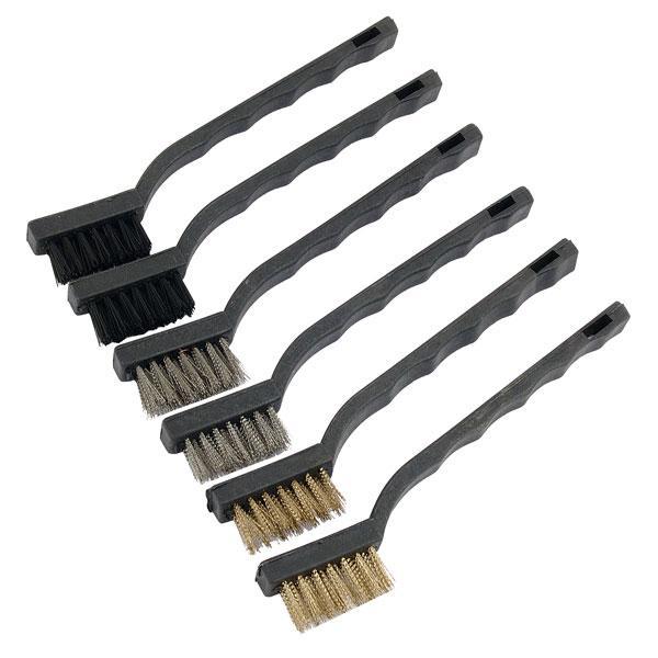 Wire Brush Set - 175mm 6pcs Neilsen