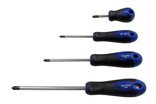 4PC J.I.S (Japanese Industry Standard) Screwdriver Set