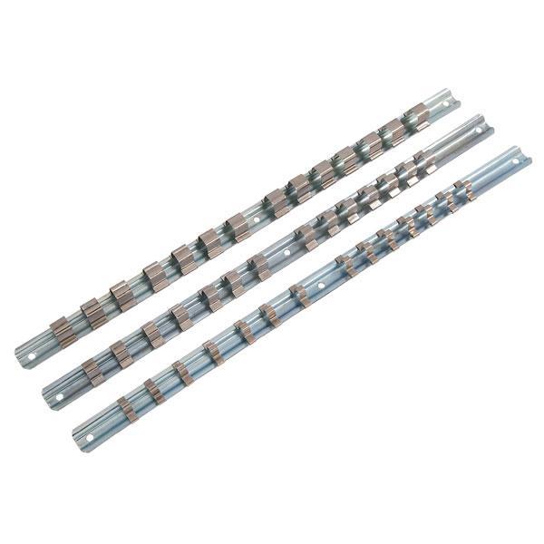 3pcs Socket Rail Set