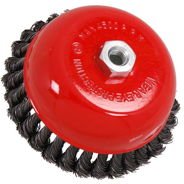 Wire Cup Brush Twist Knot 150mm
