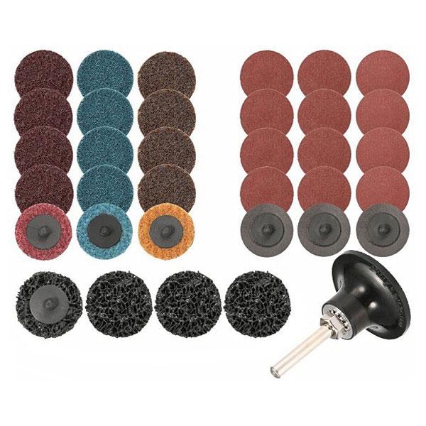 35pc Sanding Discs Set