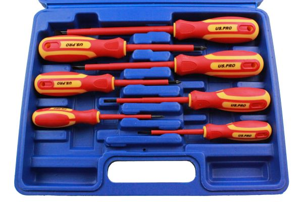 7PC INSULATED SCREWDRIVER SET IN CASE