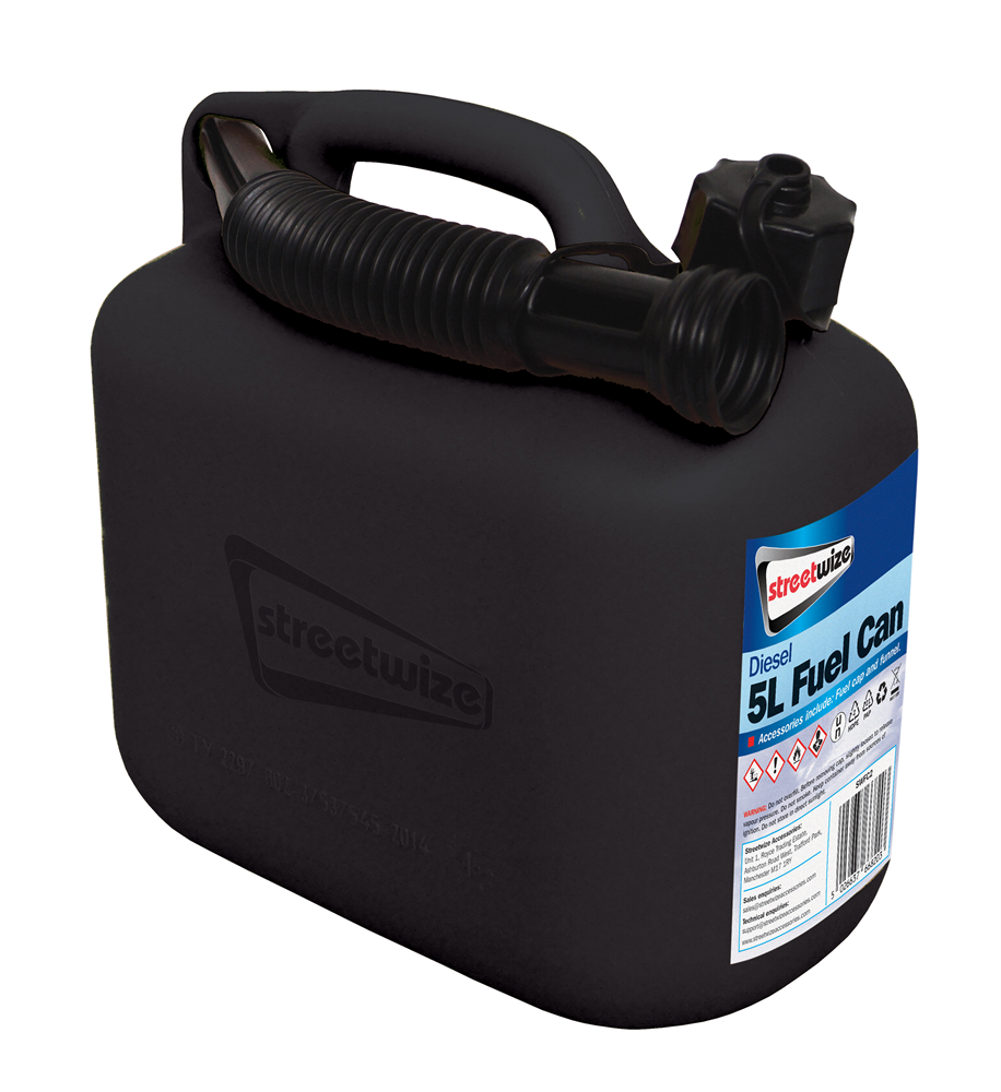 Fuel Can 5l - Black