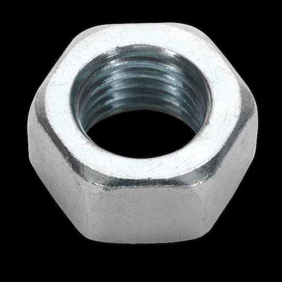 Steel Nut M16 Zinc DIN 934 Pack of 25