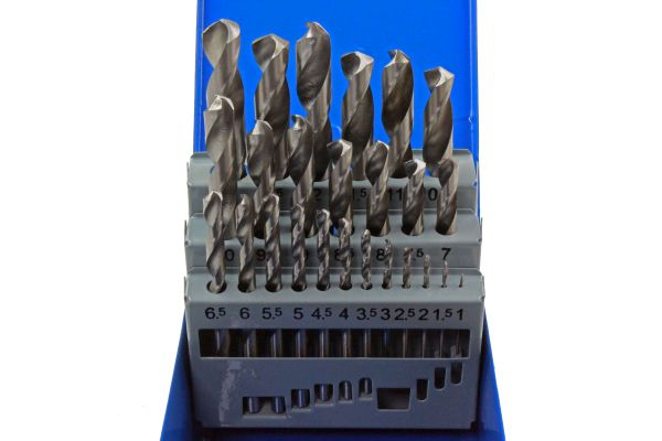 25PC HSS METRIC DRILL BITS SET