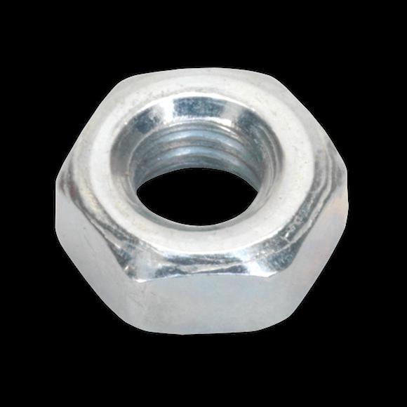 Steel Nut M4 Zinc DIN 934 Pack of 100