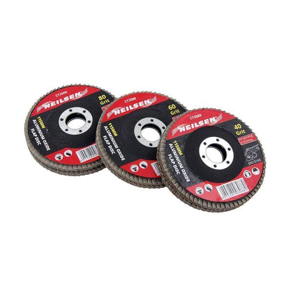 Aluminium Oxide Flap Disc 6pk