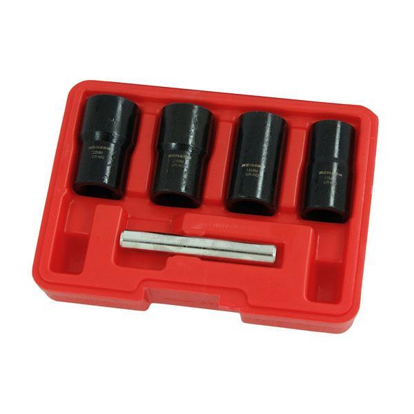 Twist Socket Set 4pc 1/2 Inch 17-22mm