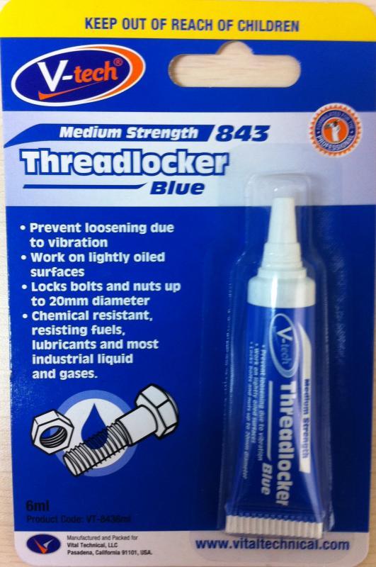 Threadlocker Blue Medium Strength