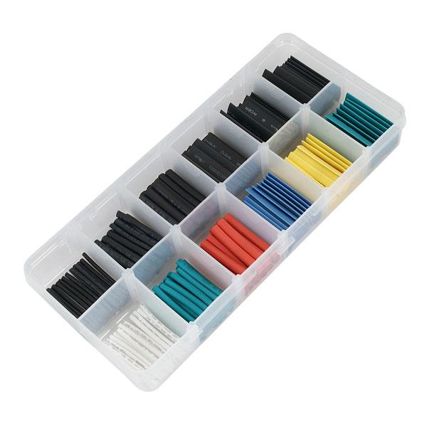Heatshrink Tubing Set 180pc Assorted Colours