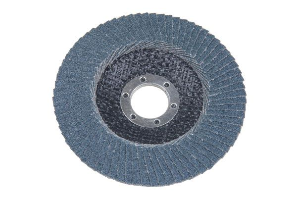 PACK OF 2 FLAP DISCS 40 GRIT OXIDE 115 X 22.2