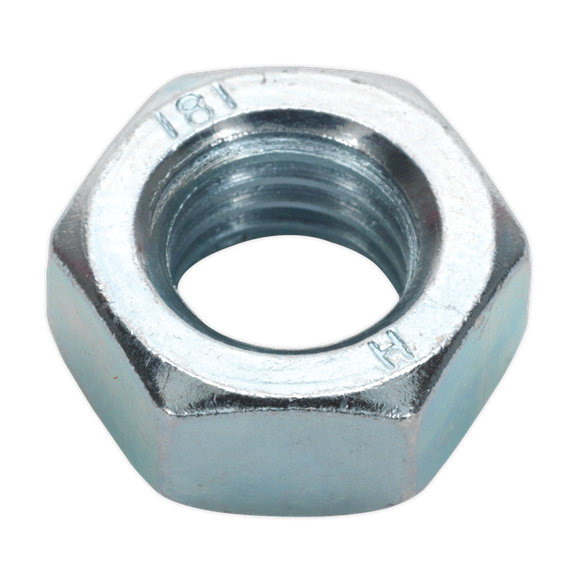 Steel Nut M14 Zinc DIN 934 Pack of 25