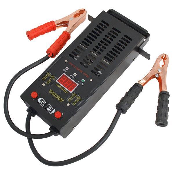 125Amp Battery Tester Portable Digital Model 6v / 12v