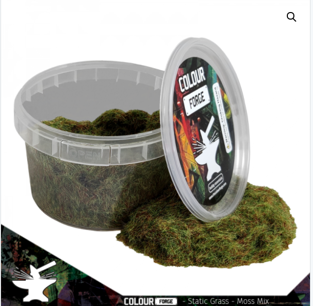 Static Grass Moss Mix