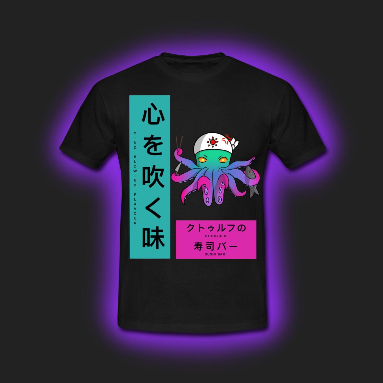 Cthulhu Sushi T-Shirt