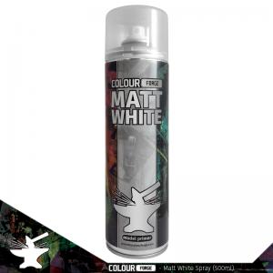 Colour Forge Matt White Spray