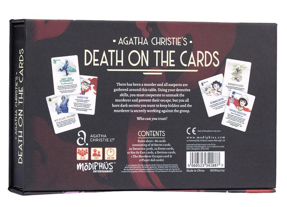 Agatha Christie Death on the Cards