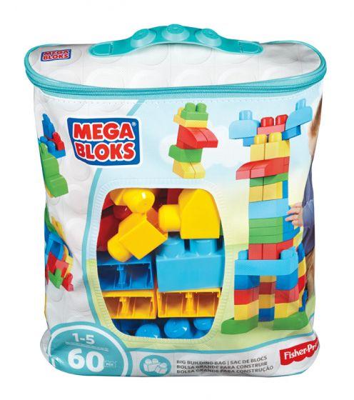 Mega Bloks Big Building Bag Blue