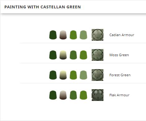 Base Castellan Green