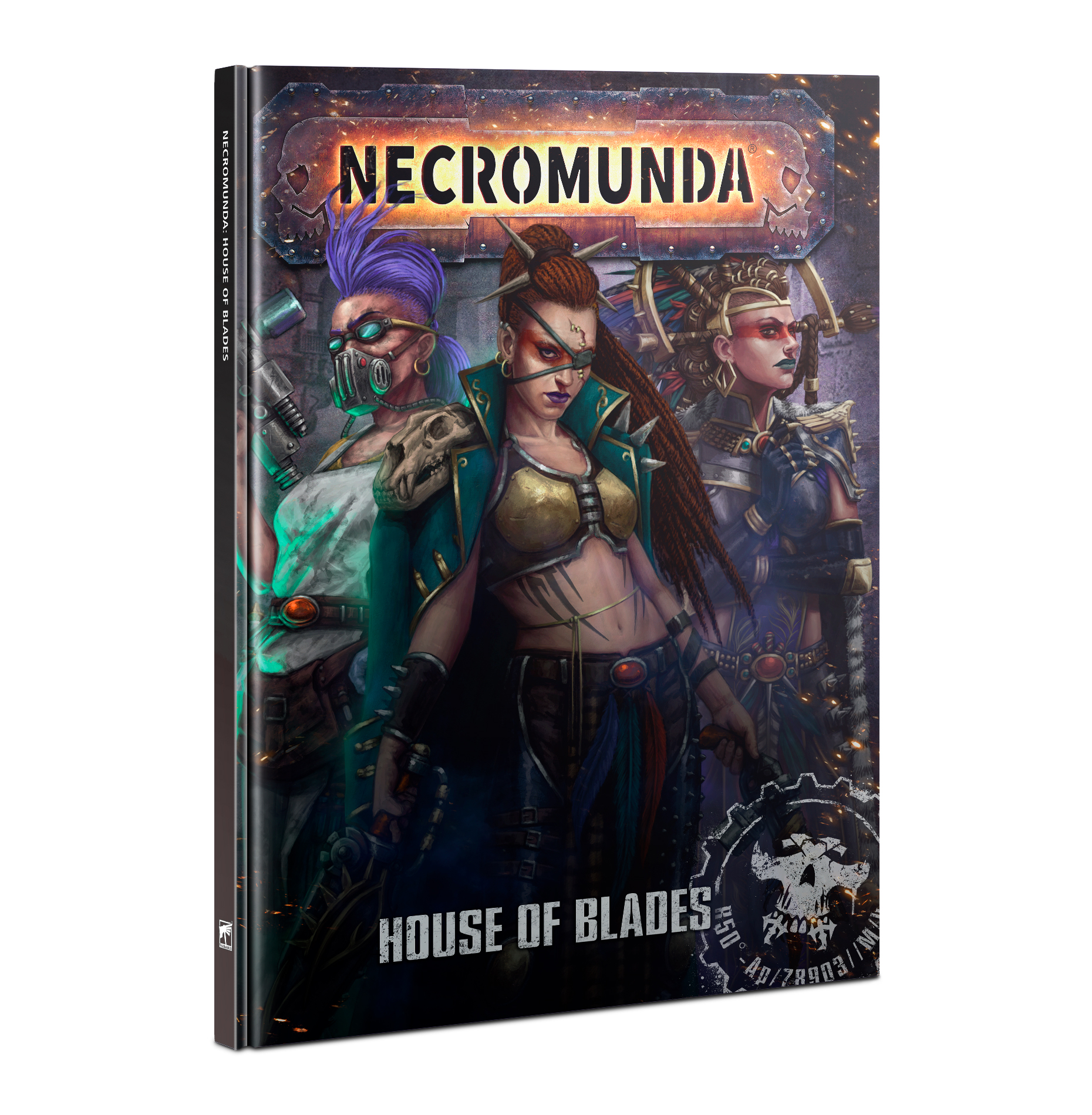 House of Blades Book