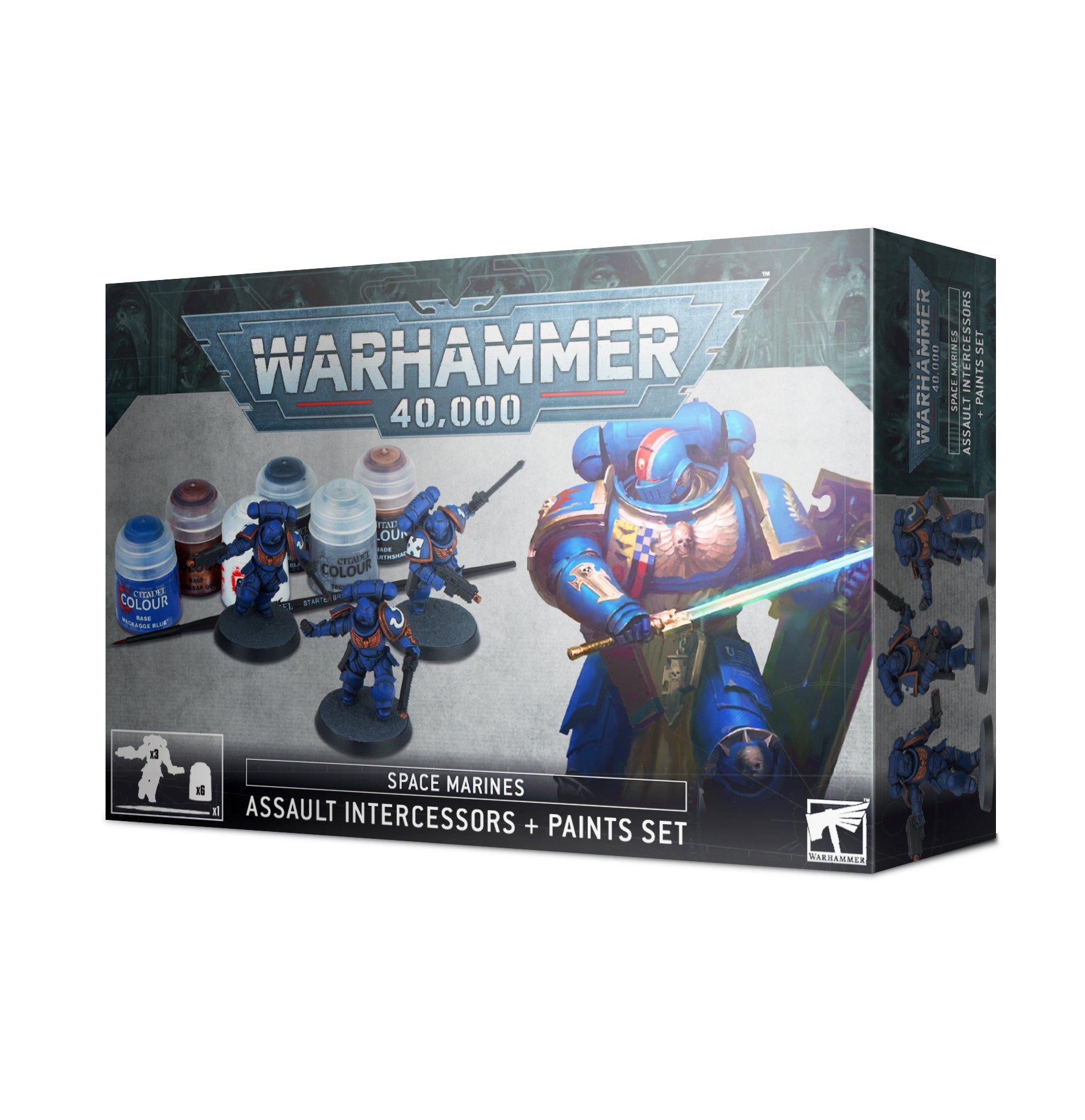 Assault Intercessor Paint Set