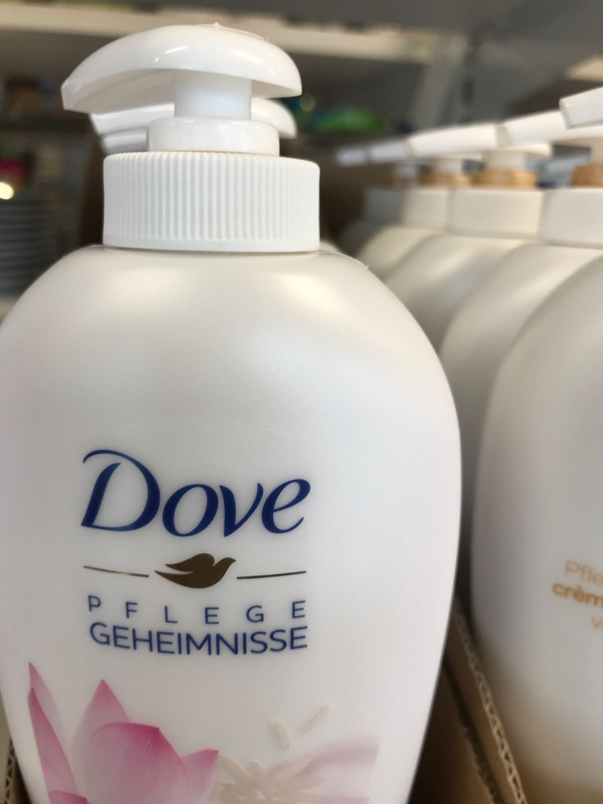 Dove flytande tvål 250ml Sheabutter